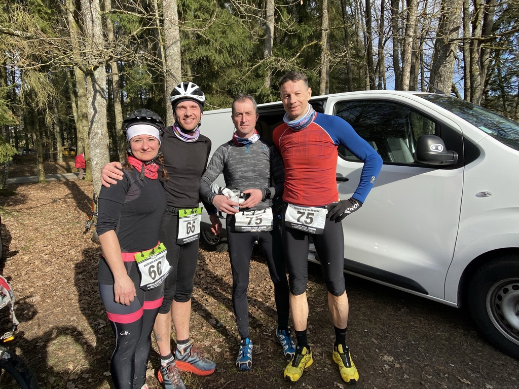 Bike & Run de Wingen sur Moder